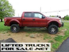 2014 Ford F-150 SuperCrew Lifted Truck
