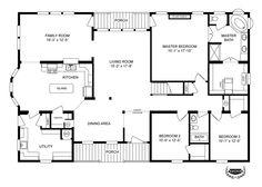 Interactive Floorplan 1743 76X32 CK32 OAKWOOD 58CLA32763AH