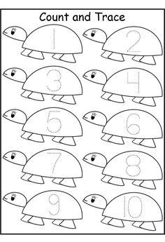 free preschool printables counting