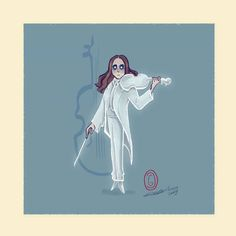 The White Violin Umbrella Academy Umbrella Art, Under My Umbrella, Umbrella Cartoon, Hunger Games, Geeks, Fanart, Dysfunctional Family, Dark Horse, Luther