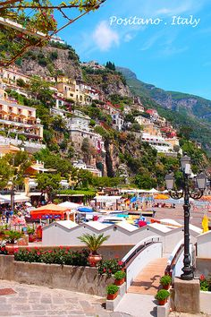 Positano, Italy on the Amalfi Coast by Ann Hung | Flickr - Photo Sharing!