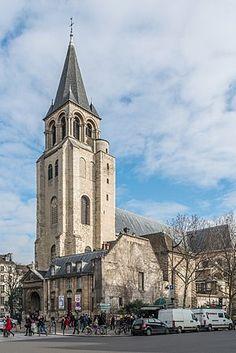 Abbey of Saint-Germain-des-Prés, Paris St Germain Des Pres, Winchester College, Saint Symphorien, Saint Vincent, Medieval, Champs Elysees, Chapelle, Most Beautiful Cities, Kirchen