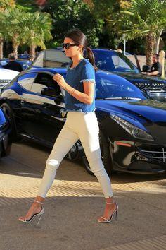 "ms-barneys-newyork: "" fashion-clue: "" runwayandbeauty: "" Kendall Jenner at Barney's in New York, December 25, 2014. "" www.fashionclue.net   Fashion Tumblr, Street Wear & Outfits "" K """