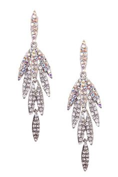 Let It Shine: Jewelry, Leaf Dangle Earrings