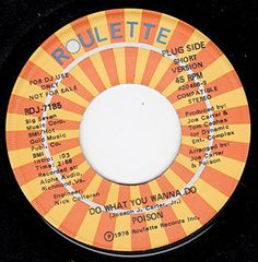 "45vinylrecord Do What You Wanna Do (7"" DJ/45 rpm) ROULETTE http://www.amazon.com/dp/B00KVJ687E/ref=cm_sw_r_pi_dp_.ImGvb1MY3TG0"