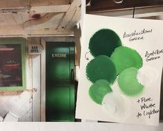 Green is a great way to freshen up a neutral space. Here are deep and crisp greens inspired by old engine room door and window frame seen in this image found in years back issue of a UK interiors magazine. To get the look in Chalk Paint™ by Annie Sloan we mixed Amsterdam Green and Antibes Green with small amounts of Pure White. #brocantespirit #chalkpaint #anniesloanhome #lovegreen #lovecolour #getthelook #colourinspo #colourmix #barossa #shoponline #shopbarossa #shoplocal