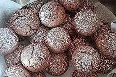 Superschnelle Nutella-Plätzchen 3 No Bake Cake, Christmas Cookies, Nom Nom, Food And Drink, Sweets, Chocolate, Baking, Fruit, Desserts