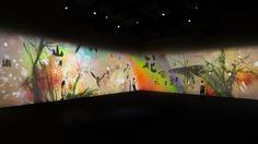 徳島県相生森林美術館 デジタルアート映像作品展示   teamLab / チームラボ