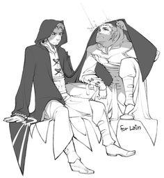 Rain. Altaïr & Malik. AltMal. Assassin's Creed