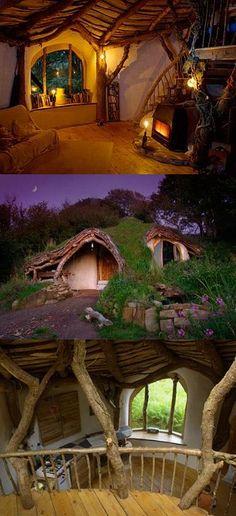 The hobbit house.