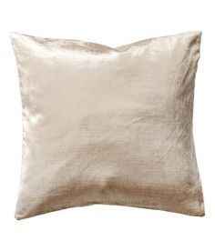 Check this out! Velvet cushion cover in a cotton and viscose blend. Concealed zip. Size 16 x 16 in. - Visit hm.com to see more.