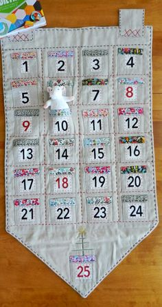 Did you have an Advent Calendar when you were little? We had one every year, but it was one of the cardboard calendars with the little win...