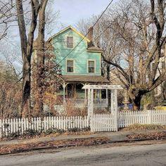 A #house in #New_Brighton, #Staten_Island.