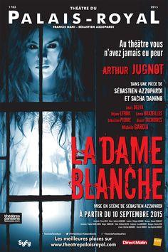 La dame blanche au théâtre du Palais-Royal.