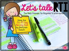 RTI for Kindergarten, First Grade, & Second Grade - The Inspired Apple