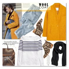 """""""Wool Coat"""" by j-sharon ❤ liked on Polyvore featuring Jeffrey Campbell, MANGO, Wrap, H&M and woolcoat"""