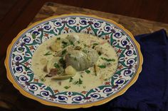 Clam Chowder Happy New Year Friends, Clam Chowder, Clams, Soups And Stews, Favorite Recipes, Bread, Chicken, Breakfast, Food
