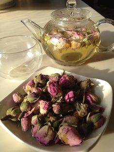 rose tea great for skin purification when you are detoxing and you are having break outs etc