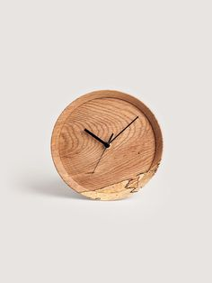 Oak Wall Clock by Yoshiki Yamazaki for RetRe