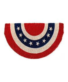 This Americana Handwoven Doormat is perfect! #zulilyfinds
