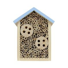 Gift//Present Wooden Square//Diamond Bug House Insect Shelter Bee Box Ladybird