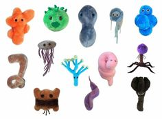 These are sort of cute... for diseases...  More educational I guess