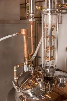 The Experimental Still: where the master distiller and his apprentice conduct trial runs for each product #ASDistillery
