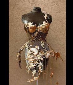 steampunksteampunk: Steel mermaid corset by Fiori Couture