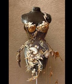 steampunksteampunk: Steel mermaid corset by Fiori Couture                                                                                                                                                                                 Plus
