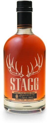 Stagg Jr. by Buffalo Trace Distillery >> George T. Stagg built the most dominant American distillery of the 19th century, during a time known as the Gilded Age of Bourbon. Uncut and unfiltered, this robust bourbon whiskey ages for nearly a decade and boasts the bold character that is reminiscent of the man himself.