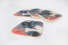 Jane Galloway Huia Coasters
