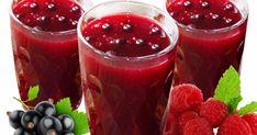 Кисель из замороженных ягод малины и черной смородины Raspberry, Food And Drink, Pudding, Dishes, Fruit, Drinks, Cooking, Desserts, Recipes