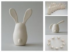clay bunnies • MY DIY CHAT • DIY Projects, Crafts, Gifts and More!