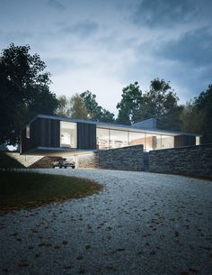QUEST A private house in Dorset, England for Ström Architects, made in collaboration with Henry Goss.