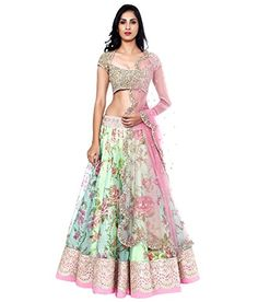 Shree Women's Net Lehenga Choli (Global Style - 9_Green) ... http://www.amazon.in/dp/B01DSYCUN4/ref=cm_sw_r_pi_dp_x_2glCyb078K4B6
