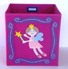 Kids Storage Bin Toy Organizer Girls Room Decor by KissyMonster, $25.00