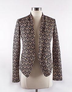 Sparrow — Ikat Knit Blazer $48