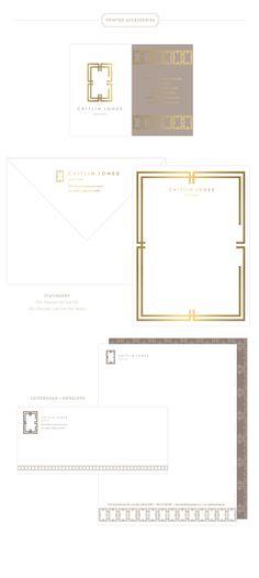 Emily McCarthy Branding | Caitlin Jones Design Printed Materials | www.emilymccarthy.com #branding