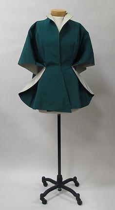 Evening jacket... Charles James, 1950s, American, silk