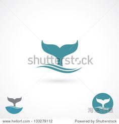 Whale tale - vector illustration 正版图片在线交易平台 - 海洛创意(HelloRF) - 站酷旗下品牌 - Shutterstock中国独家合作伙伴