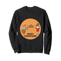 Funny Christmas 2020 I Love Social Distancing Gift Sweatshirt #Sweatshirt #Chrisrtmas #Christmasshirt #Christmas2020 #Socialdistancing #Gift #Giftforher #Giftforhim #Giftforwife #Giftforteen #Giftforkids #Giftformom #Giftfordad