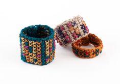 Free Crochet Pattern. Tunisian Crochet Cuffs : Lion Brand Yarn Company