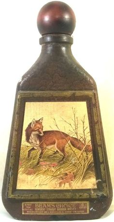 Vintage Beam's Choice Red Fox Collectible Whiskey Decanter Bottle J Lockhart Big Game Hunting, Buy Sell Trade, Whiskey Decanter, Jim Beam, Ebay Auction, Red Fox, Fancy Pants, Home Office Design, Beams