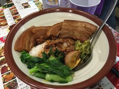 Number 14. Yes that is a layer of pork fat. And yes that is why I ordered this dish.  - Bao Dao Taiwanese Kitchen, Restaurants, Eastwood, NSW, 2122 - TrueLocal