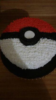 Pokemon ball cake!!!