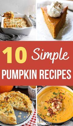 Lunch Recipes, Seafood Recipes, Dessert Recipes, Dinner Recipes, Healthy Recipes, Pumpkin Recipes, Fall Recipes, Best Pumpkin, Food To Make
