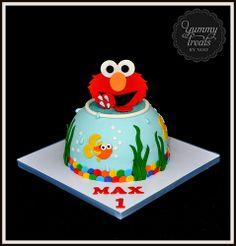 Elmo and Dorothy Cake!