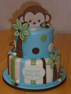 Perfect for a baby boy shower!