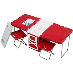 $87.00  -- Want to know more, click on the image. (This is an affiliate link) #campingkitchentable