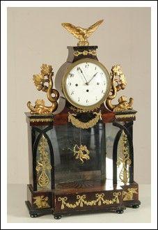 Orologio da Camino Carlo X Antiquariato su Arsantik